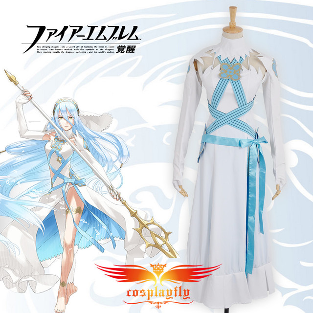 Envío gratuito Fire Emblem fates Birthright Aqua/Azura vestido ...