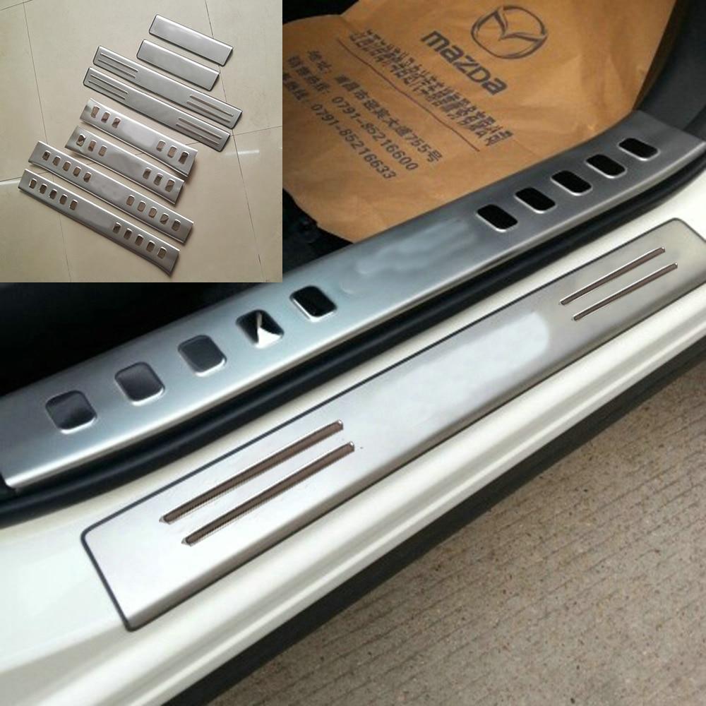 2014 Mazda Cx 5 Interior: TTCR II Stainless Door Sill Scuff Plate For Mazda CX 5 CX5