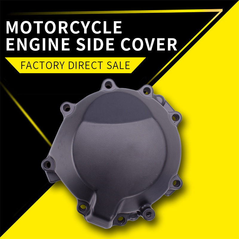 Motorcycle Accessories Aluminum Engine Stator Cover Crank Case For Kawasaki ZX-10R 2006 2007 2008 2009 2010 ZX10R Ninja ZX 10R motorcycle stator engine crank case cover for kawasaki ninja 2006 2007 zx10r zx10 06 07 zx 10r black color cnc aluminum