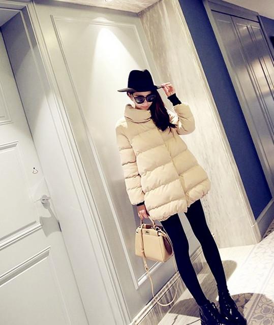 2016 algodón de maternidad de maternidad abrigo outwear color del caramelo Cardigan embarazada mujer estilo coreano de moda ropa invierno de maternidad