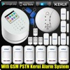 KERUI WiFi GSM PSTN Wireless For Home Shop Office House Sucerity Intruder Anti Theft Alarm System