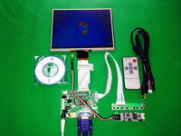 HDMI VGA AV Control Driver Board Touchscreen 8 Inch HE080IA 01D 1024 768 IPS High Definition