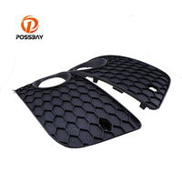 POSSBAY Durable and Against Fading Front Bumper Grill Lower Car Grille Left&Right Side For VW Golf MK5 GTI 2004 2009