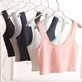 10pcswomen summer cotton top tanks 2015 brand fashion loose striped short sleeve top tank vest top quality wholesale half vest21