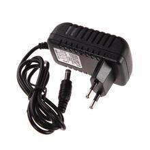 AC 100-240 адаптер конвертер DC 5,5x2,5 мм 6V 1A 1000mA Зарядное устройство штепсельная вилка европейского стандарта