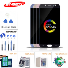 5.5Sinbeda LCD For SAMSUNG J7 Pro 2017 Touch Screen Digitizer J730F J730 J730G for Samsung Display