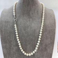 "9 – 10 MM de agua dulce collar de perlas regalos de boda 27.5 "" envío gratis"
