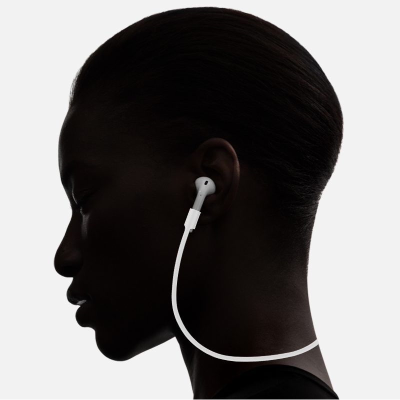 2018 New Headphone TWS Anti-lost line for AirPods i7tws earphone tough and durable for IFANS i9 I8X Earplugs Silicone material (2)