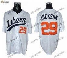 019596450 DUEWEER Auburn Tigers Bo Jackson College Baseball Jerseys Cheap White 29 Bo  Jackson Stitched University Stitched