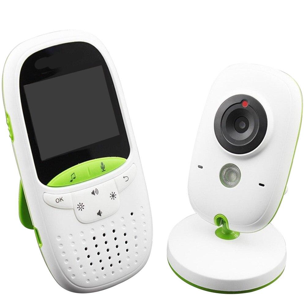 VB602 nouveau moniteur bébé sans fil 2.4 pouces vidéo Babysitter soins maison sans fil sécurité bidirectionnelle interphone caméra