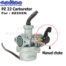 цены Motorcycle PZ22 Carb Keihin 22mm Carburetor For CT90 CT110 1980 1981 1982 1983 1984 1985 1986 Trail Bike free shipping