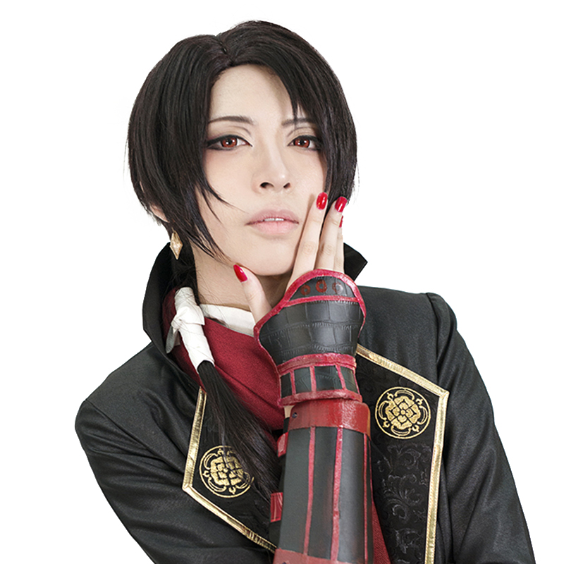 HSIU High Quality Kashuu Kiyomitsu Cosplay Wig Touken Ranbu Online Game Costume Play Wigs Free Shipping Halloween Costumes Hair