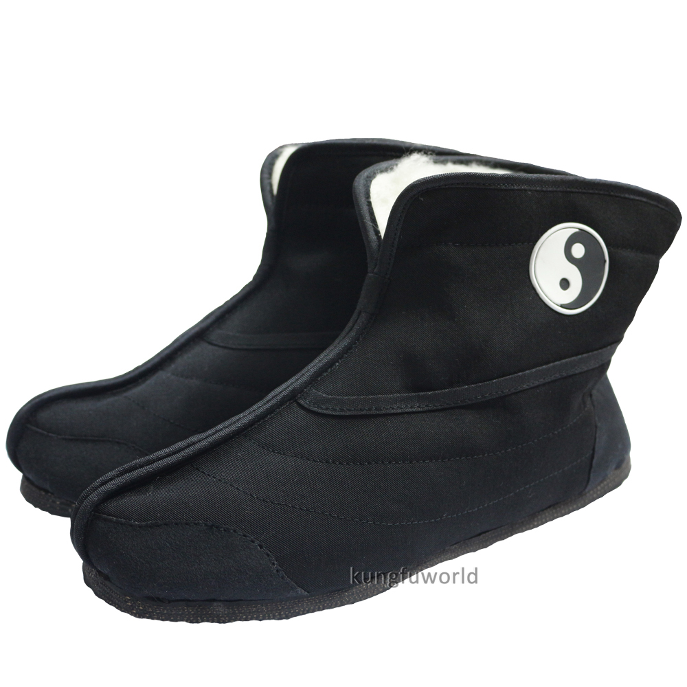 Wudang Taoïste Hiver Tai chi Kung fu Chaussures Bottes arts Martiaux Wing Chun Wushu Sport Taekwondo Karaté Baskets