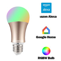IFTTT google Led Bulb Dimmer 2.4 Gam Wifi Thông Minh Light Bulbs Điều Khiển từ xa RGB Đa Màu Sắc Thay Đổi Qua APP Điều Khiển Bằng Giọng Nói Alexa