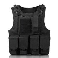 2019 Children outdoor multi function Tactical vest Men military combat vest Camouflage vest