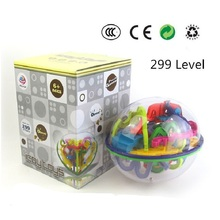 299 level 3D Magic Maze Ball perplexus magical intellect ball educational toys Marble Puzzle Game perplexus balls IQ Balance toy