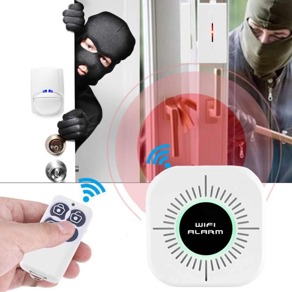 Sonoff 433 MHZ Pintu Jendela Sensor Alarm Window Detector untuk Rumah Pencuri Alarm Sistem Keamanan