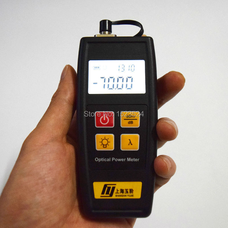 YJ-350A Telecommunication -70~+6dBm Handheld Mini Optical Power Meter