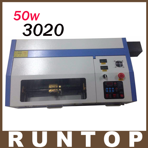 50W  200*300mm Mini CO2 Laser Engraver Engraving Cutting Machine 3020 Laser with USB Sport Support manufacturer 3020 40w mini co2 desktop laser engraving cutting machine