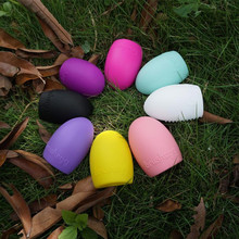 1PC Colorful Silicone Makeup Brush Cleaning Washing Tools Cosmetics Scrubber Egg Cosmetic Cleaner Tool OK 0806