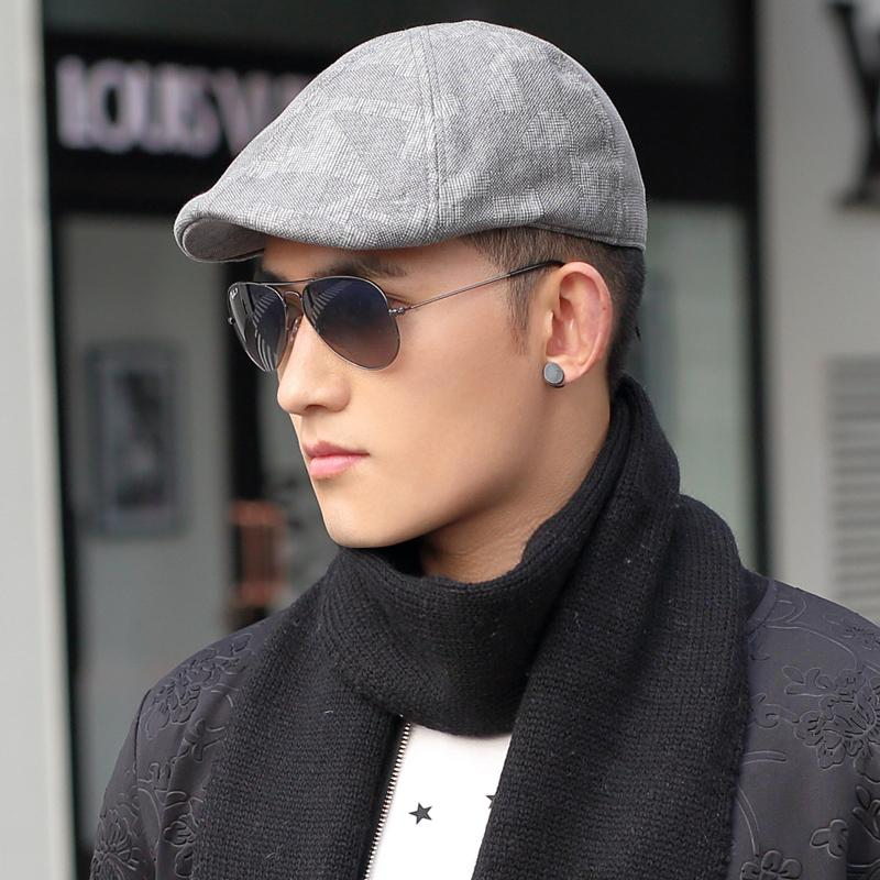 New 2015 New Cotton Beret Men autumn and winter fashion temperament yuppie  wind cap beret painter cap Men s Hats advance-in Holidays Costumes from  Novelty ... 8a8de4c702a
