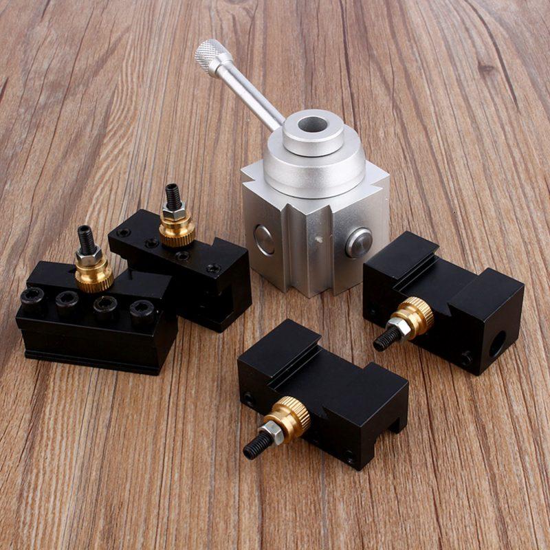 screw tool holder set boring bar rotating key holder Screw tool kit quick change tool post holders
