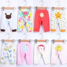 Штанишки для новорожденных 5 шт./лот детские леггинсы Костюмы Babe динозавров звезда овец мультфильм животных Симпатичные хлопок; штаны для девочек и мальчиков дети