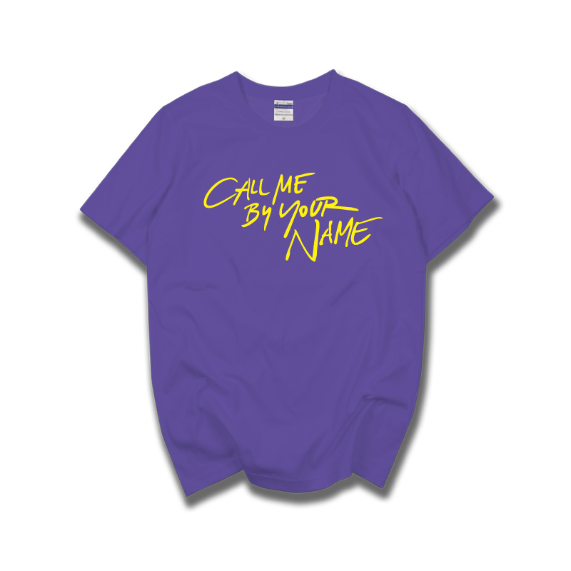 aa61aab9a call me by your name short sleeve t shirt tee male female funny top 100%