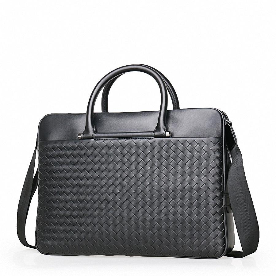 77e89cc430af Купить Сумки мужские кожаные портфели юрист сумки на плечо из натуральной  кожи мужские сумки мессенджеры мужские Офисные Сумки LI 1943 Цена Дешево.