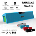 Original Sardine SDY019 altavoz Bluetooth Speaker FM Radio HIFI Stereo Speakers Portable Mini Wireless Speaker USB Amplifiers