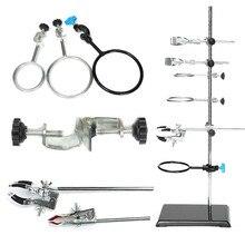 Kicute лабораторные стенды поддержка и лабораторные зажим лабораторные зажимы колба зажим для конденсатора подставки 600 мм Школьные лабораторные принадлежности