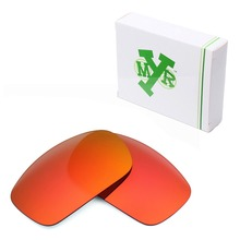 Mryok POLARIZED Replacement Lenses for Oakley X Squared X-Metal Sunglasses Fire Red