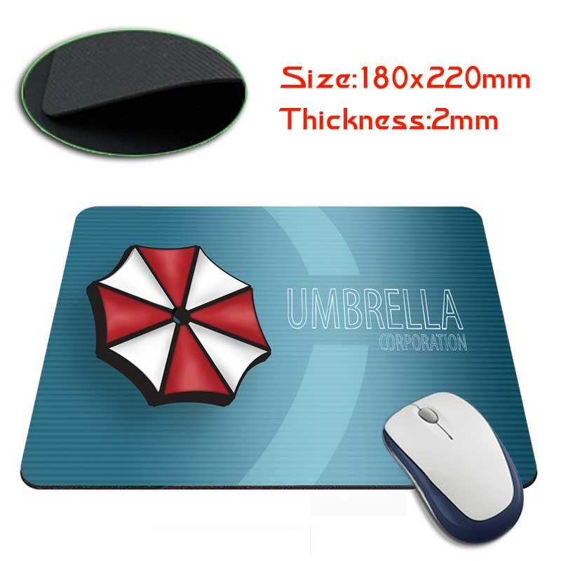 Umbrella Corporation Rectangle Anti-Slip Laptop PC Mice Pad Mouse Mats