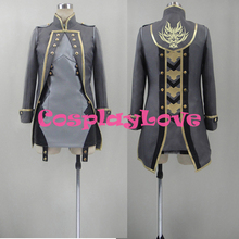 New Custom Made Japanese Anime God Eater 2: Rage Burst Cosplay Costume With Hat Halloween High Quality