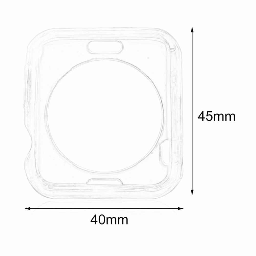 جديد لينة رقيقة TPU واقية حالة غطاء ل أبل ل iWatch 42 مللي متر شاشة الحرس بالجملة