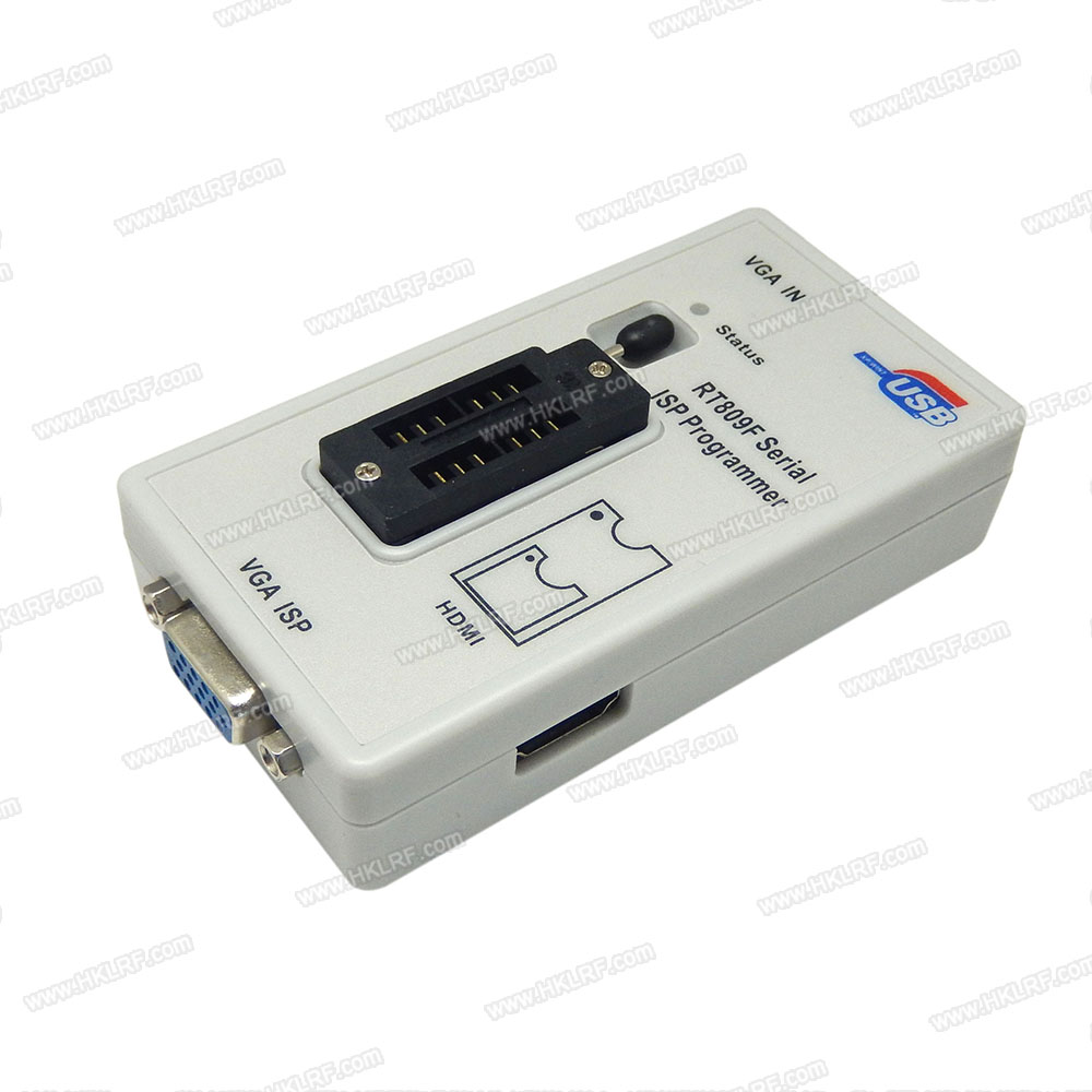 Image 2 - RT809F Set Universal EPROM FLASH VGA ISP AVR Programmer+6 Adapter Socket-in Integrated Circuits from Electronic Components & Supplies
