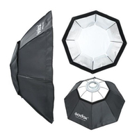 Godox Softbox BW95cm Octagon umbrella Softbox + Bowens Mount Aluminum Alloy Adapter Ring For photography studio godox flash