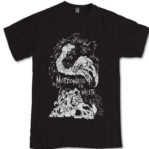 MOTIONLESS IN WHITE T-shirt S M L XL 2XL 3XL metalcore band Chris Cerulli image