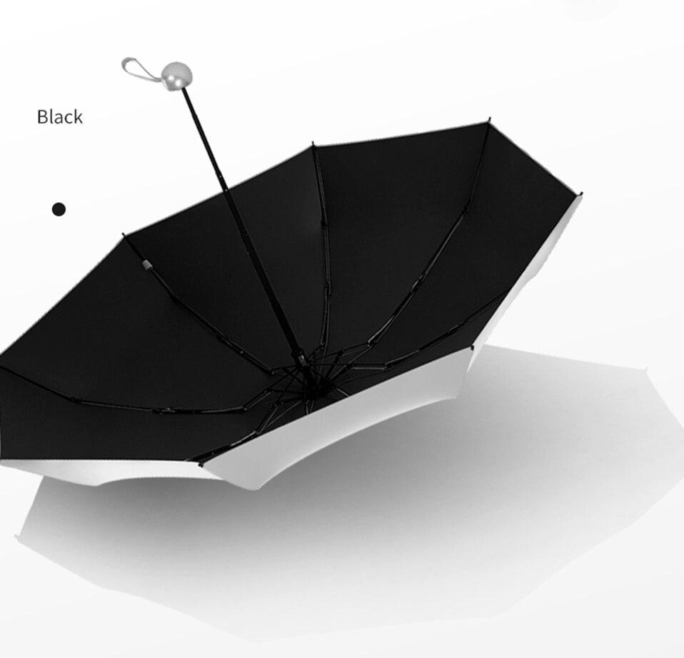 8 Bones Pocket Mini Umbrella Anti UV Paraguas Sun Umbrella Rain Windproof Light Folding Portable Umbrellas for Women Children (17)