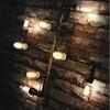 Loft Style 8 Lights Water Pipe Wall Lamp Bedroom Vintage Edison Bulbs Light Desinger Cafe Bar