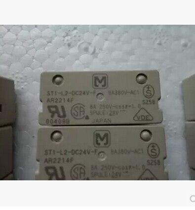цена на ST1-L2-DC24V-F Original Relay 8A380V 8P original