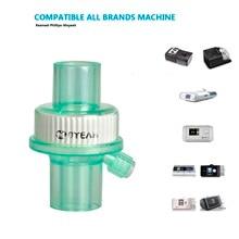 купить CPAP Bacterial Viral Filter For Breathing Mask Tube Machine Accessories Bacterium Filters for Cpap BiPAP Hose Sleep Apnea Snore по цене 650.66 рублей