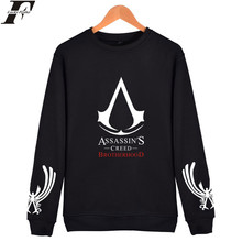 LUCKYFRIDAYF GAMES ASSASSINS CREED Mens Hoodies And Sweatshirts Pullover ACT Simple Design Winter Hoodies Men Casual Clothes