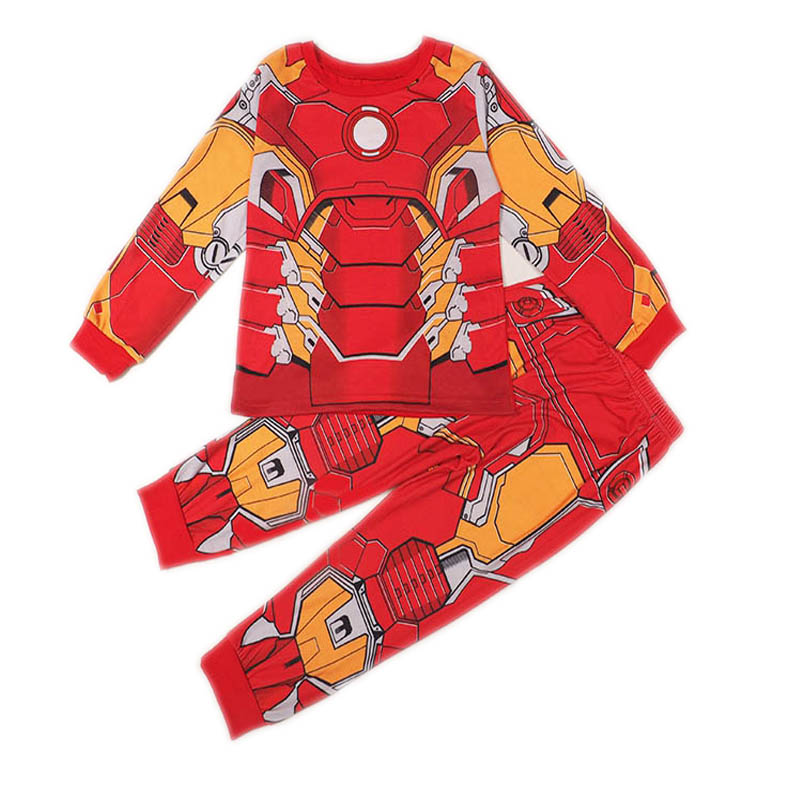 SAMGAMI BABY Star Wars Heroes Nová móda Baby Sleeping Wear Oblečení Set Boys Pyžama Oblek Modal Fabric Soft Breathable Child
