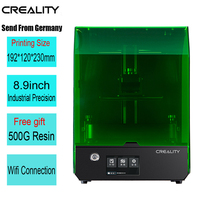 Creality New SLA/DLP/LCD 3d printer largest print volume 192*120*230mm high precision Impresora 405nm UV resin