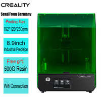 Creality New SLA/DLP/LCD 3d printer largest print volume 192*120*230mm high precision Impresora 405nm UV resin