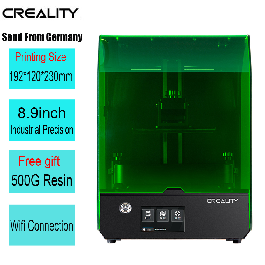 Creality Nuovo SLA/DLP/LCD 3d stampante più grande il volume di stampa 192*120*230 millimetri di alta precisione impresora 405nm UV resina