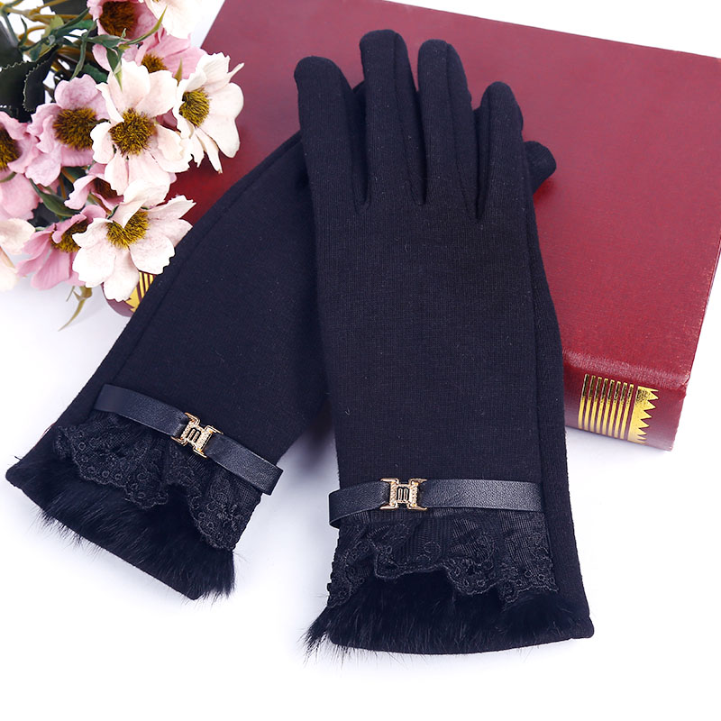 Windstopper Gloves Touch Screen Guantes Mujer Brand Warm