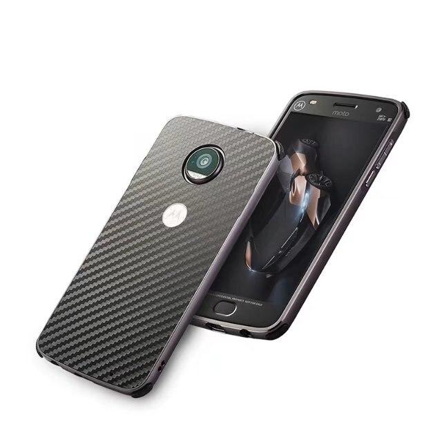 Мода углеродного волокна роскошные Алюминий металла Рамки 2 в 1 съемный чехол для MOTO G5 противоударный чехол для Motorola G5 плюс