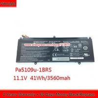 Genuine 11.1V 41Wh PA5190U 1BRS Battery For Satellite Click 2 Pro Laptop